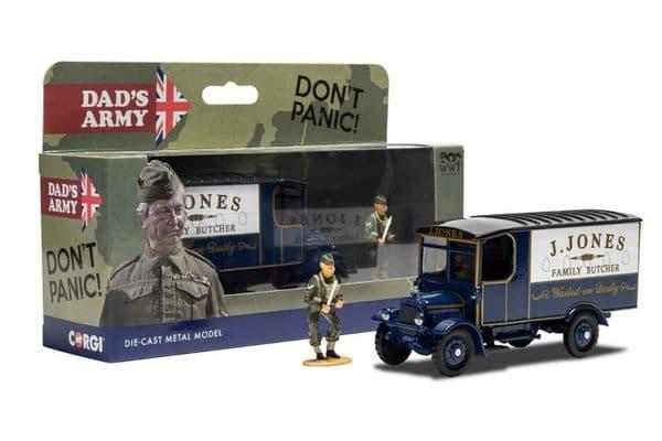 Corgi CC09003 1/50 Scale Dads Army J Jones Thornycroft van and Mr Jones Figure